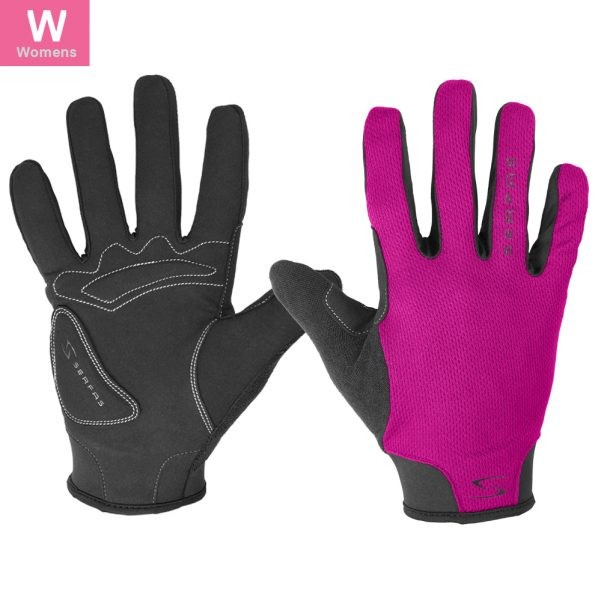 SLW-BK-3 (WOMEN'S FULL FINGER STARTER BLACK MEDIUM)
